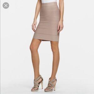 BCBGMAXAZRIA Bandage Skirt In MAUVEROSE